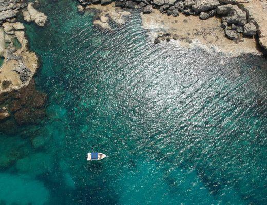 Cyprus van boven