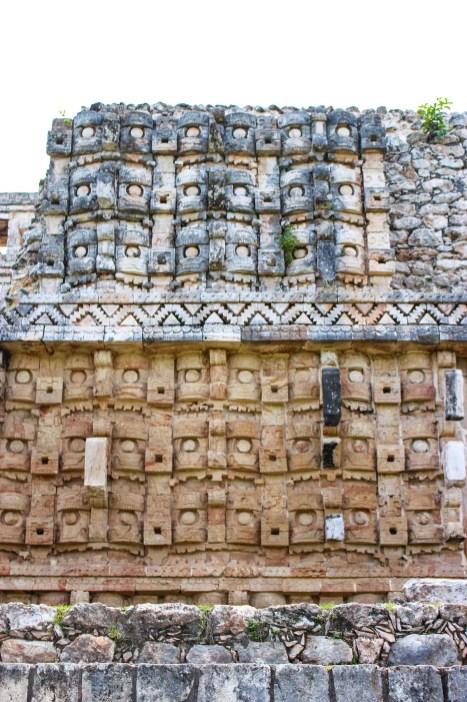 Fassade Palast der Masken in Kabah