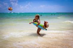 In den Wellen Strand