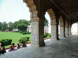 Inside Rotes Fort Old Delhi