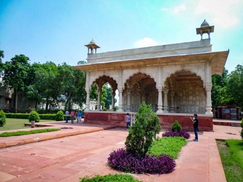 Inside Rotes Fort Lal Qila Delhi