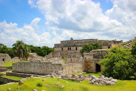 Kabah Ruinenstadt Maya Yucatan
