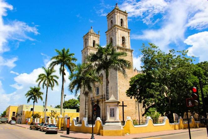 Kathedrale San Servasio Valladolid Mexiko