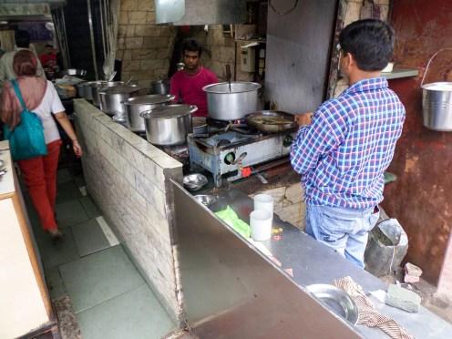 Küche Swagat Dhaba Delhi