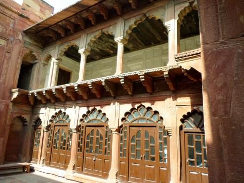 Agra Fort Innen Türe