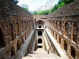 Agrasen Ki Baoli Stufenbrunnen Delhi