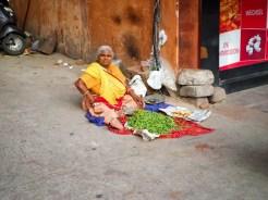 Frau Straße Jaipur