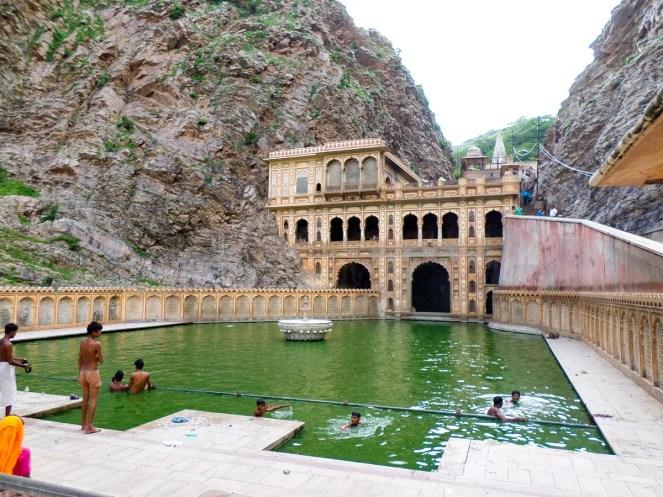 Galta Ji Affentempel Jaipur