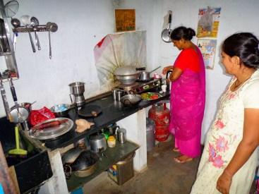 Küche Haus Pushkar Indien