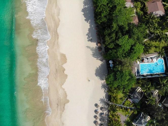 Strand Ngapali Beach Drohne Fliegen