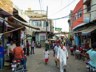 Straße Agra Indien