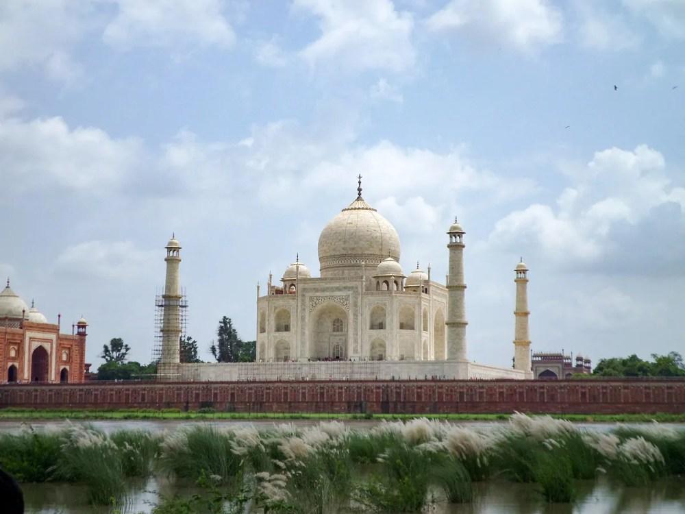 Taj Mahal River Agra