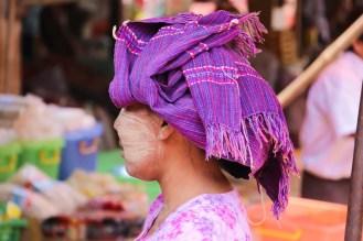 Kopftuch Myanmar