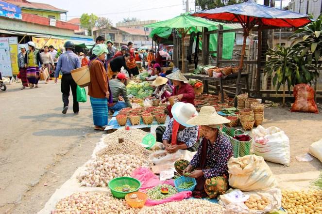 5-day Markt Taunggyi