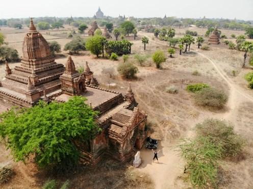 Namenlose Pagode 433 in Bagan