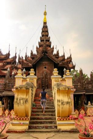 Shwe Inn Bin Kloster Mandalay