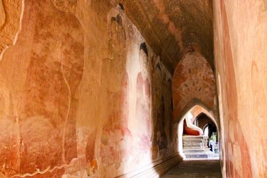Sulamani Tempel Wandmalereien