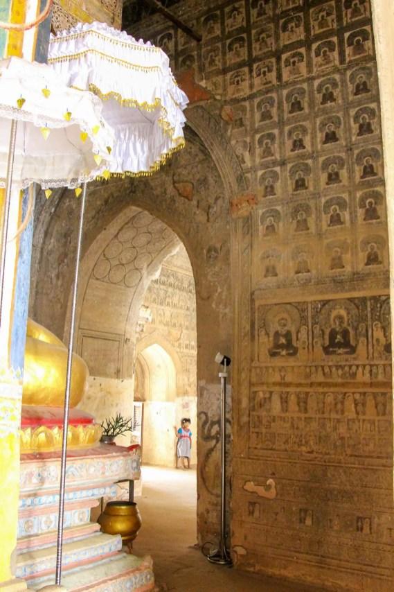 Wandmalereien Lemyethna Tempel