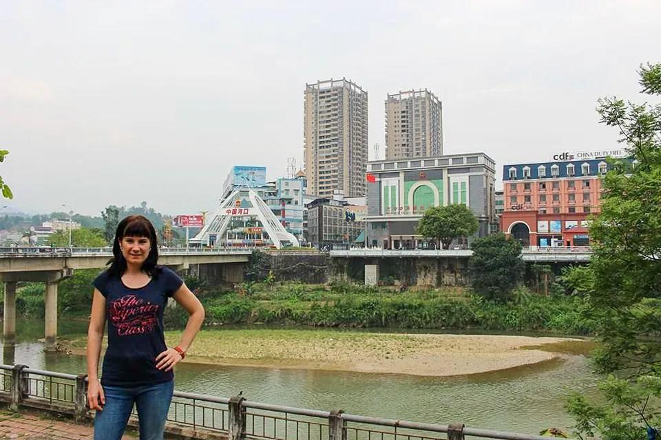 Grenze Lào Cai Vietnam