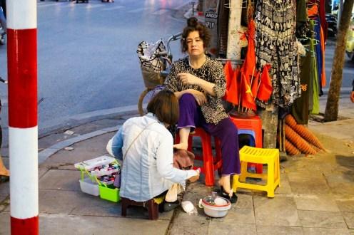 Pediküre Hanoi