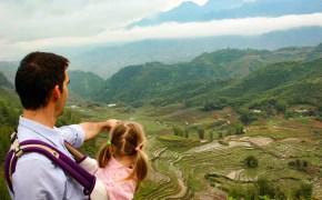 Reisterrassen Vietnam Sapa