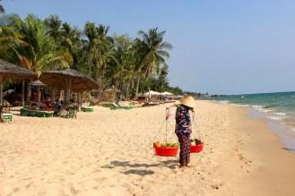 Strandverkäufer auf Phu Quoc