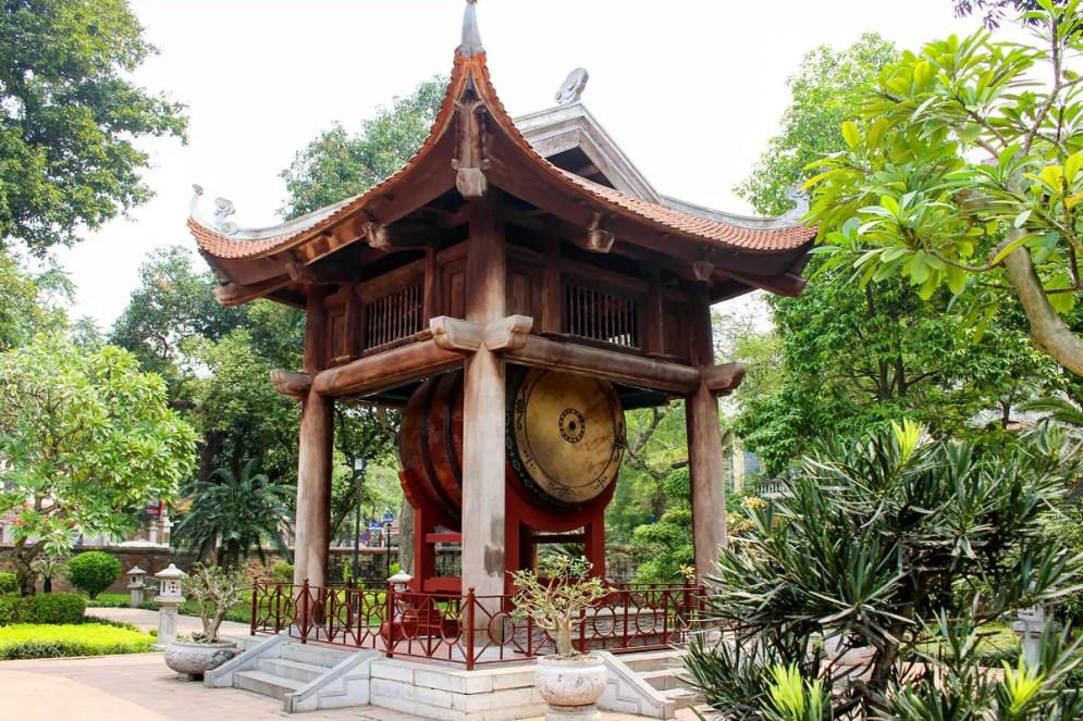 Trommel Literaturtempel Hanoi