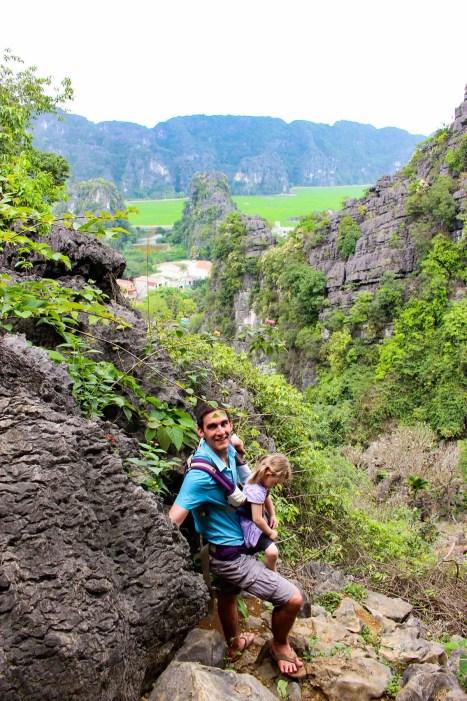 Weg Aussichtspunkt Bich Dong Pagode