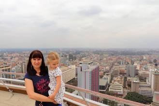 Aussicht KICC Nairobi