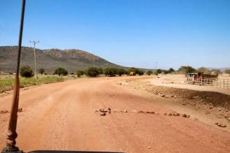 Feldweg Kenia