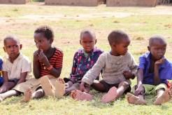 Massai Kinder Dorf