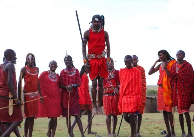 Massai Tanz