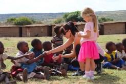 Spenden Dorf Masai Mara