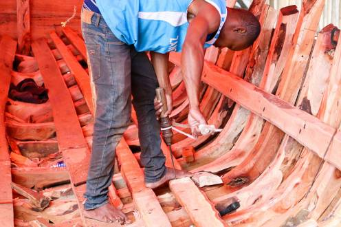 Bootsfabrik Sansibar
