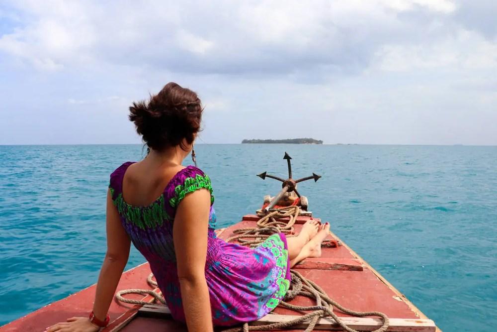 Bootsfahrt nach Prison Island Sansibar