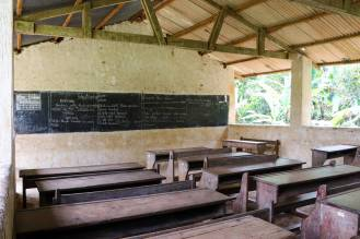 Klassenraum Schule Sansibar