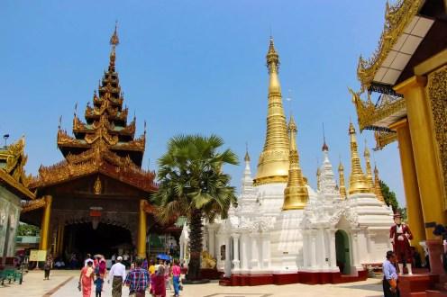 Outer Stupas