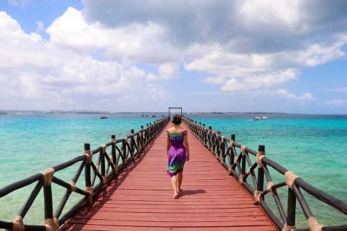 Steg Prison Island Sansibar