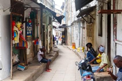 Gasse Stone Town Sansibar