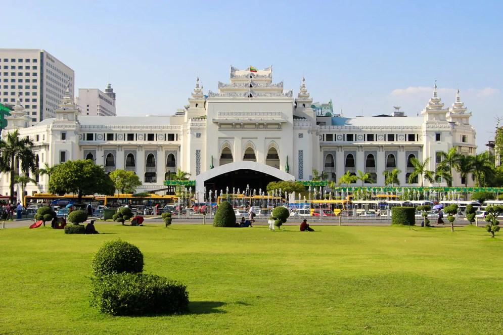 Kolonialgebäude Yangon City Hall