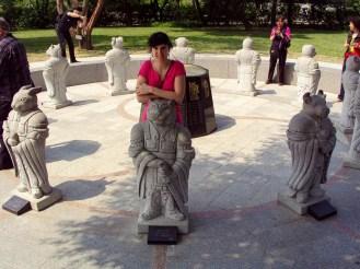 12 Ttierkreiszeichen Statue National Folk Museum Seoul