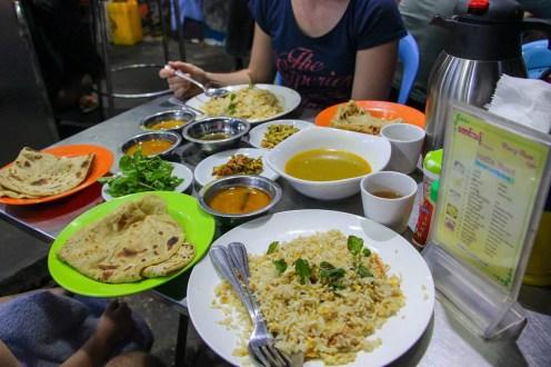 Indisches Essen Mandalay