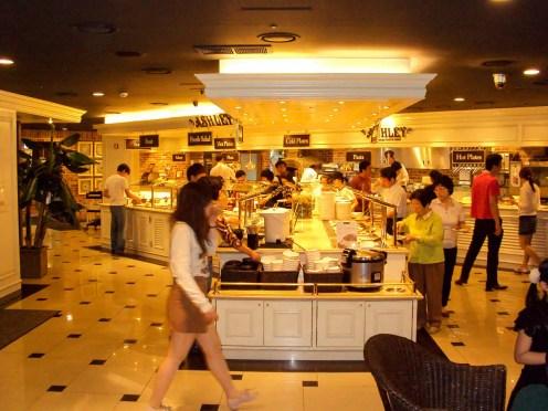 Ashley Buffet Restaurant in Seoul