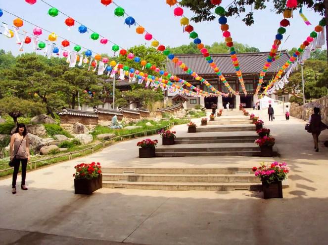 Bongeunsa Tempel Seoul