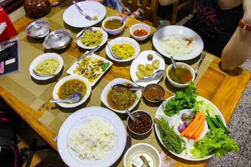 Burmesisches Essen