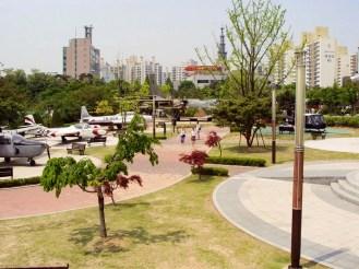 Flugzeugausstellung Boramae Park Seoul