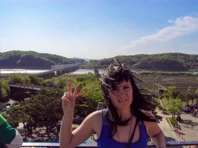 Friedensbrücke Imjingak Park DMZ