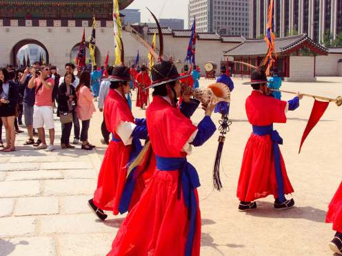 Gyeongbokgung Palace Wachablösung