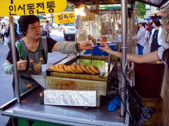 Hotteok Insadong
