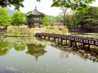 Hyangwonjong Pavillon Südkorea